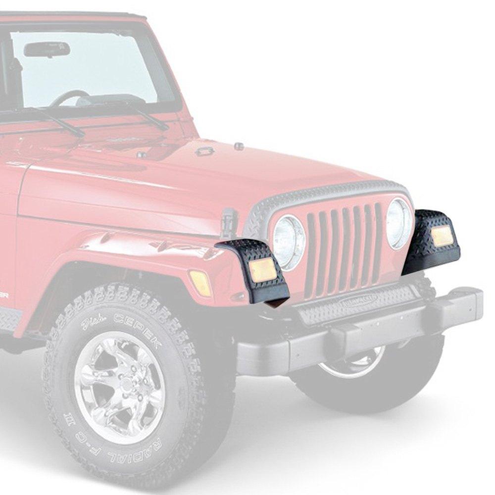 Bushwacker 14007 Jeep Trail Armor Front Corner Pair