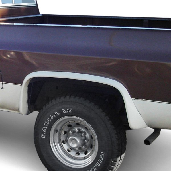 Black Fender Trim For Trucks : Bushwacker chevy ck pickup extend a fender™ matte