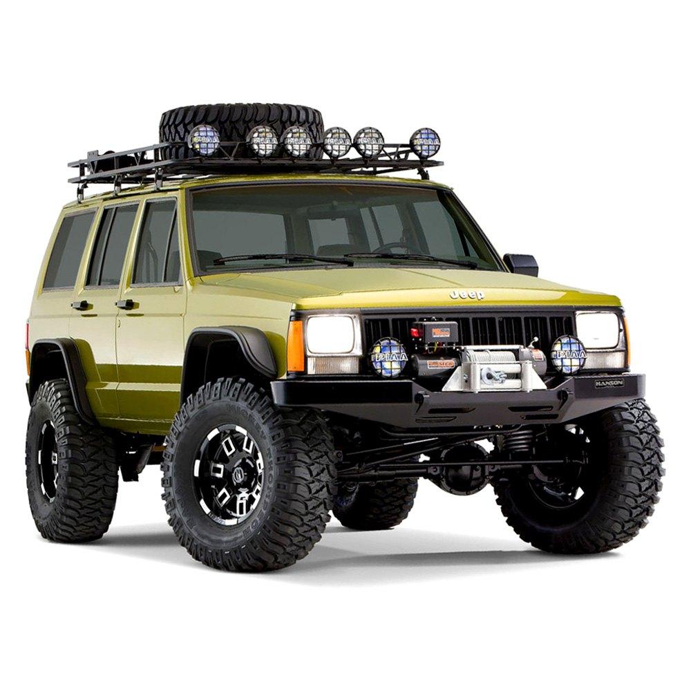 Jeep Cherokee 1984 Flat Style Matte Black