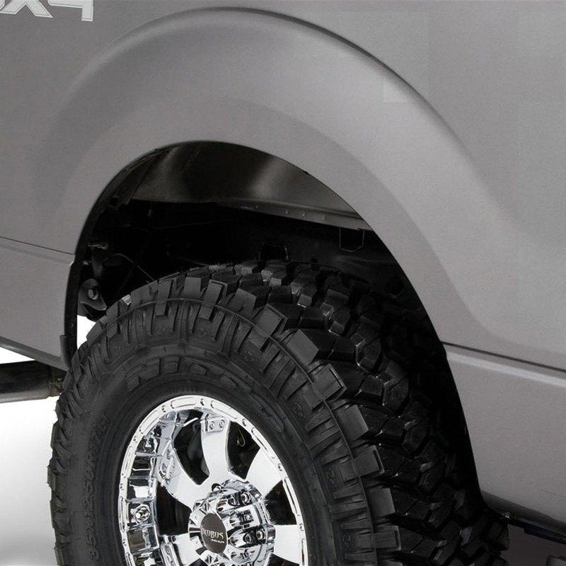 Bushwacker® 20929-02 - Pocket Style™ Matte Black Front and Rear Fender  Flares