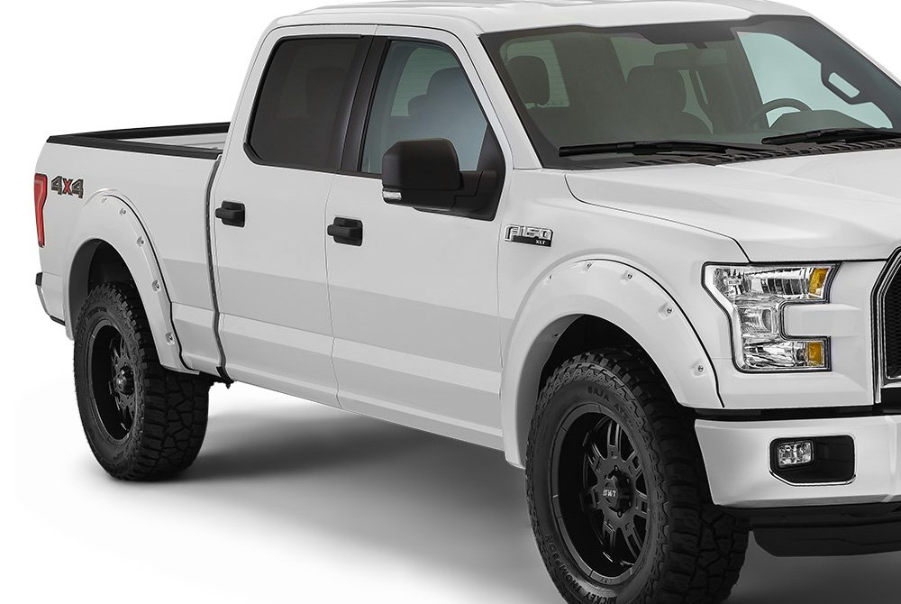 bushwacker ford f 150 2015 pocket style fender flares. Black Bedroom Furniture Sets. Home Design Ideas