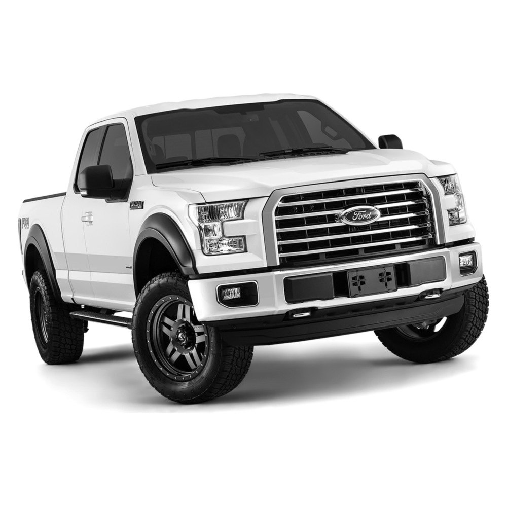 bushwacker ford f 150 2015 extend a fender matte black. Black Bedroom Furniture Sets. Home Design Ideas