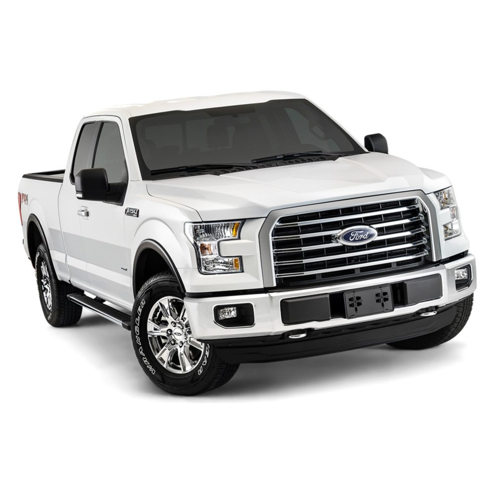 bushwacker ford f 150 2015 oe style matte black fender. Black Bedroom Furniture Sets. Home Design Ideas