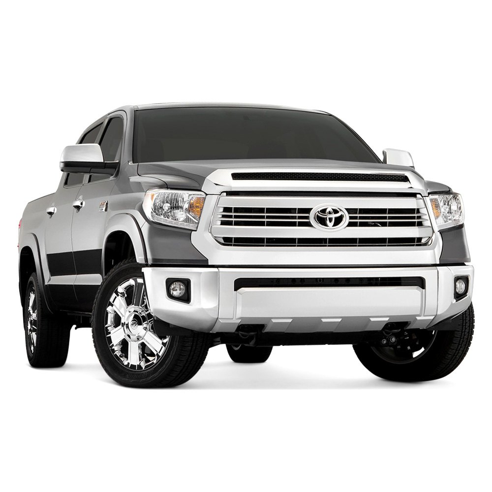 Bushwacker Toyota Tundra With Factory Mud Flaps 2014