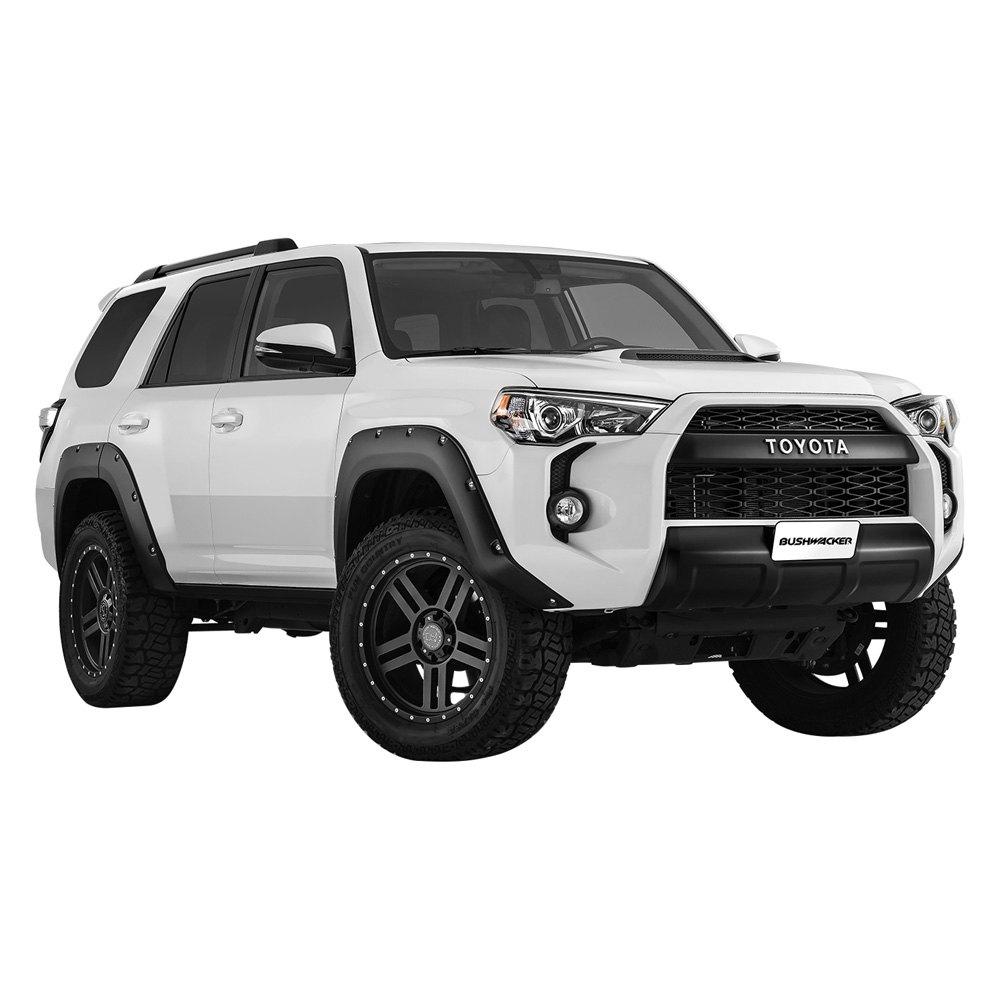 Matte Black 4runner >> Bushwacker® - Toyota 4Runner 2014 Pocket Style™ Matte Black Fender Flares