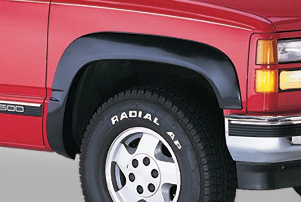 Black Fender Trim For Trucks : Bushwacker chevy ck pickup oe style™ matte black