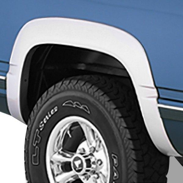 Bushwacker® 40904-01 - OE Style™ Matte Black Front and Rear Fender ...