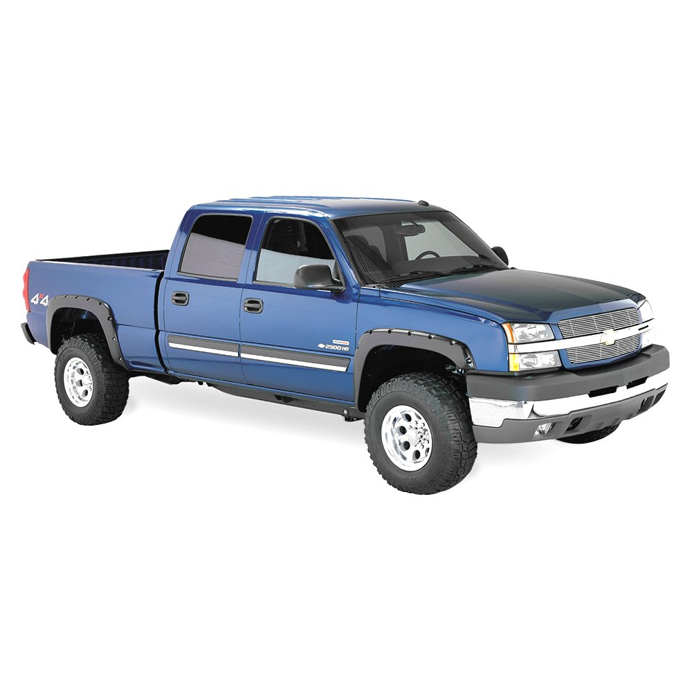 Silverado 2003 chevy silverado 1500 accessories : Bushwacker® - Chevy Silverado 2003 Pocket Style™ Fender Flares