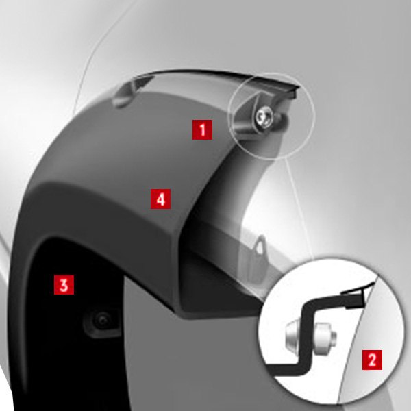 Bushwacker dodge ram 2500 3500 2017 2018 max coverage pocket flaresbushwacker max coverage pocket style rear fender sciox Images