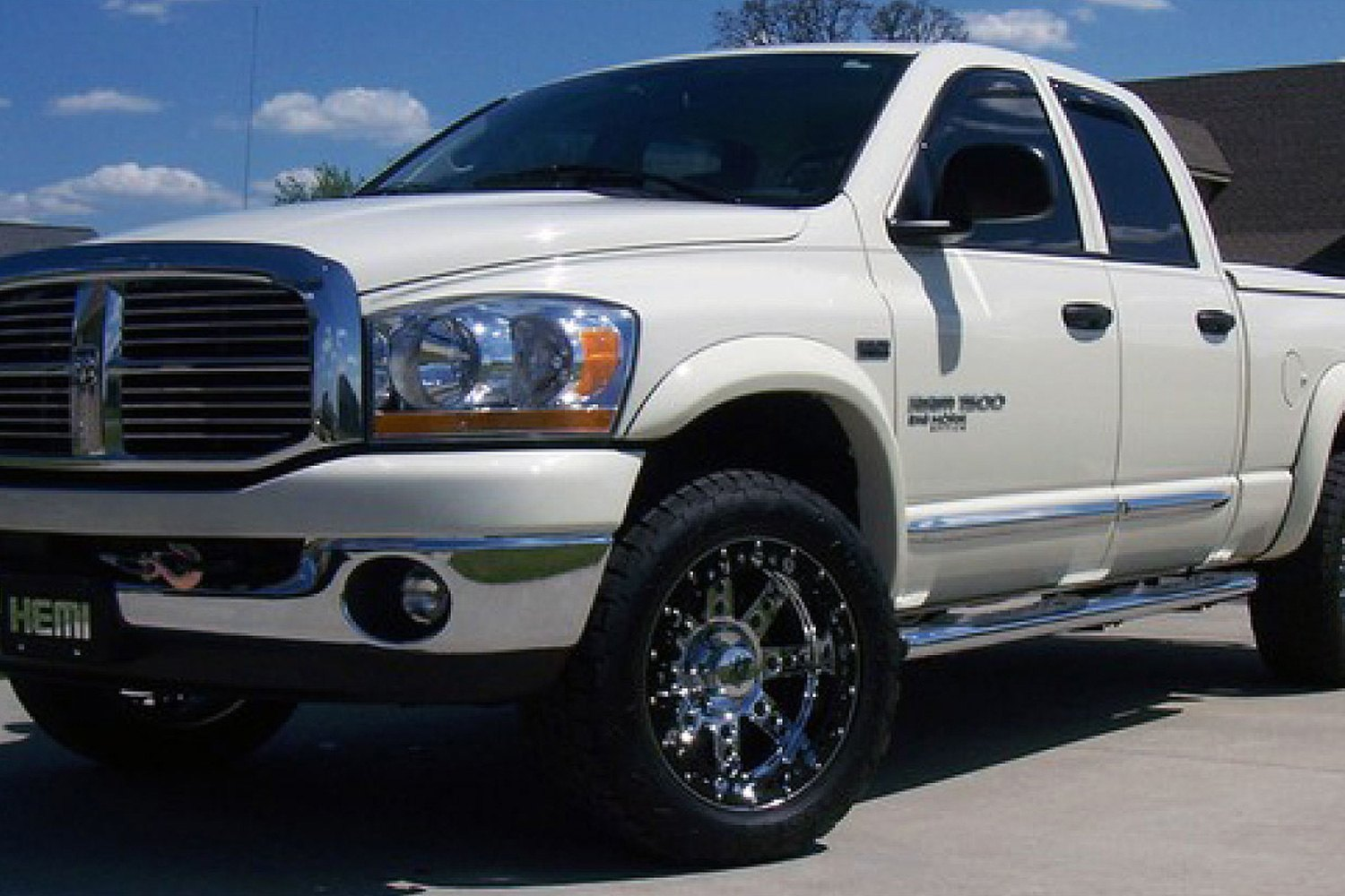 extend a fender front and rear fender flares