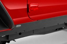 Bushwacker® - Trail Armor Pocket Style Rocker Panels on Jeep Wrangler