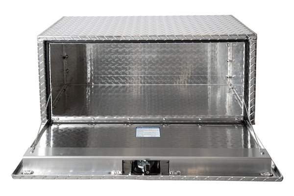 Buyers Products 1705150 Toolbox Aluminum, 14X12X24, T-Handle