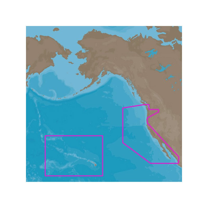 CMAP NADFULL D Wide US West Coast And Hawaii MicroSD - Full map of us west