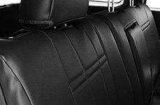 CalTrend® - Leather Black Seat Covers
