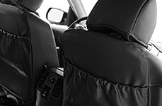CalTrend® - Second Row Black Seat Covers