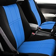 CalTrend® - DuraPlus Blue/Black Custom Seat Covers