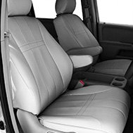 CalTrend® - EuroSport Gray Custom Seat Covers