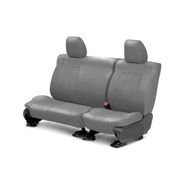 vehicle caltrend 2nd row leather light gray custom seat covers. Cars Review. Best American Auto & Cars Review