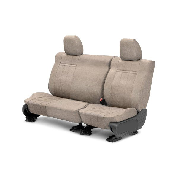 Velour nd row seat cover split bench