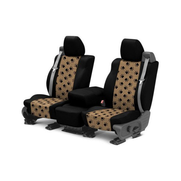 caltrend toyota sienna 2015 2016 pet print custom seat covers. Black Bedroom Furniture Sets. Home Design Ideas
