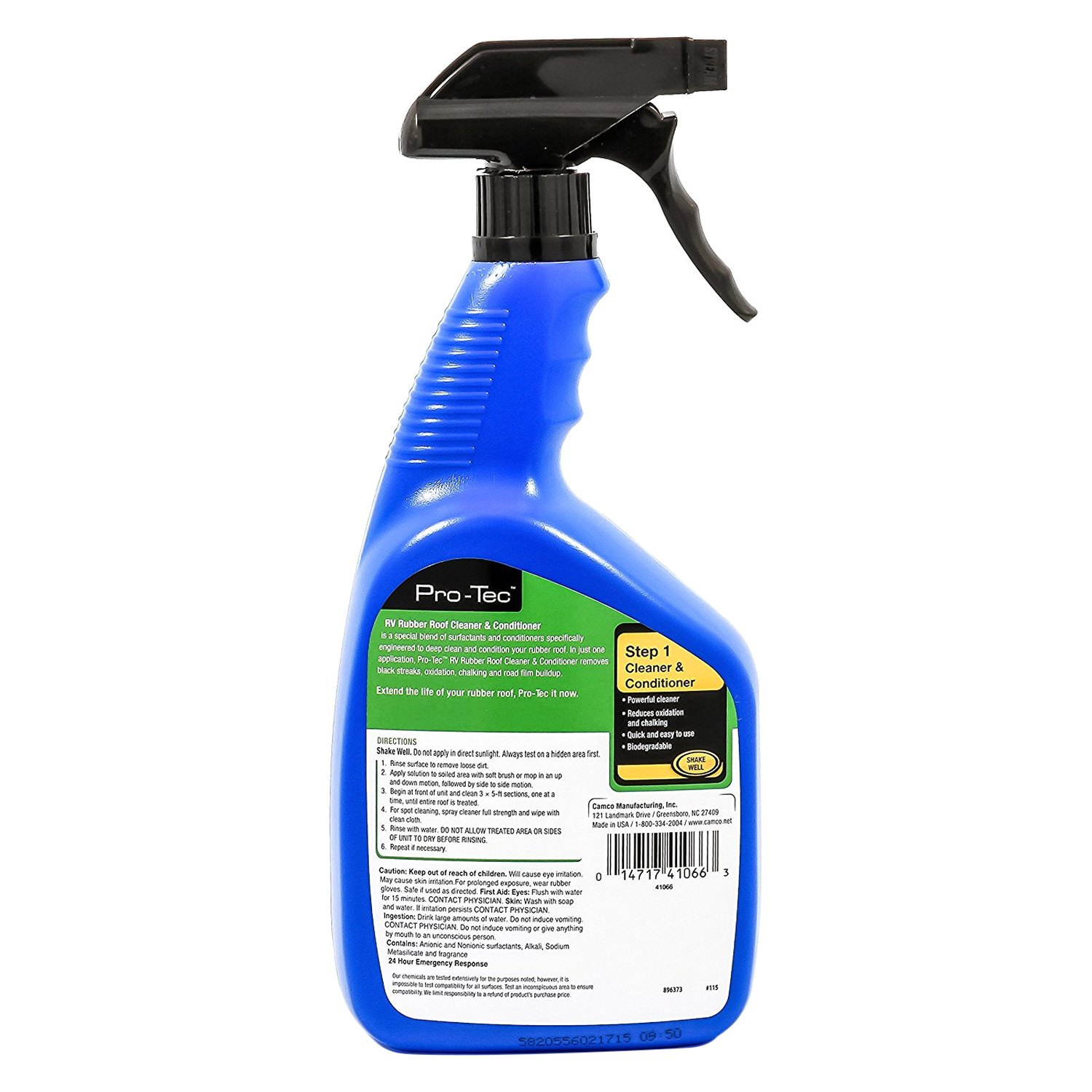Rv Roof Cleaner : Camco pro tec rv rubber roof cleaner camperid