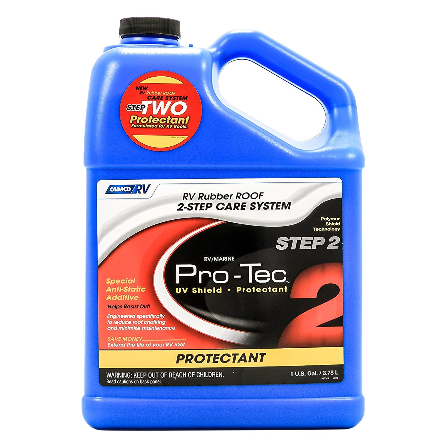 Camco 174 Pro Tec Rv Rubber Roof Protectant Camperid Com