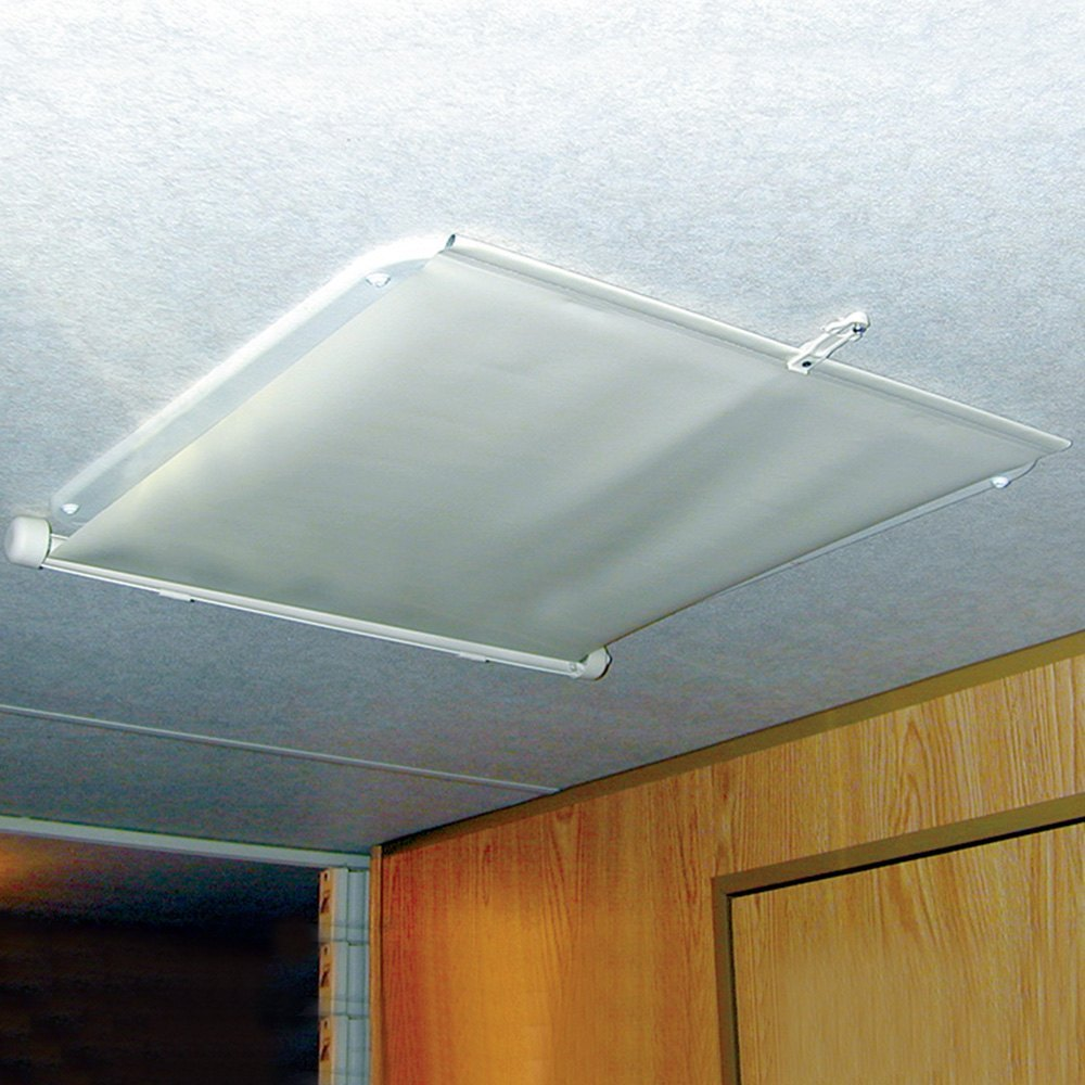 Msl 404400f 4 Ft Utility Led Shop Light Fixture: Camco - Lights Out Vent Shade