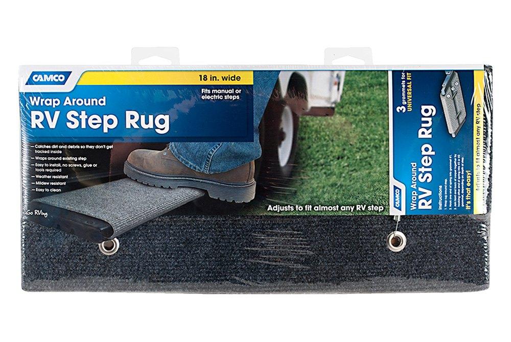 Reliable Rv Cleaner : Camco rv wrap around step rug ebay