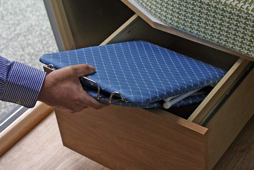 camco folding ironing board ebay. Black Bedroom Furniture Sets. Home Design Ideas