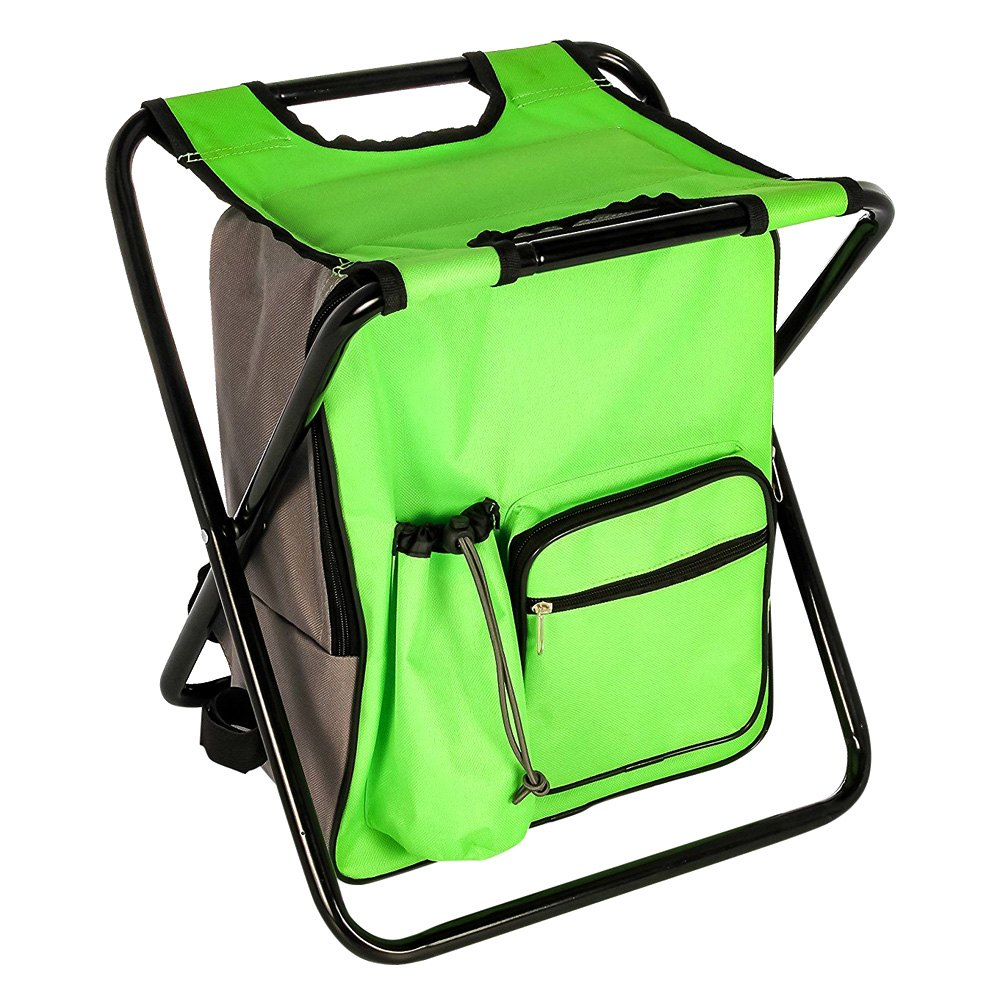 Camco 174 Camp Stool Backpack Cooler Recreationid Com