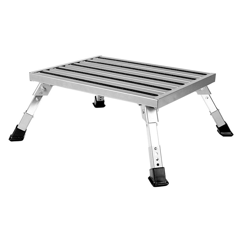 Camco 174 43677 Aluminum Platform Step Stool