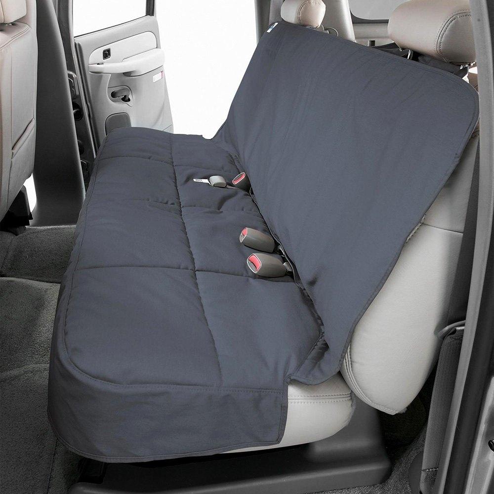 Wondrous Canine Covers Polycotton Semi Custom Rear Seat Protector Inzonedesignstudio Interior Chair Design Inzonedesignstudiocom
