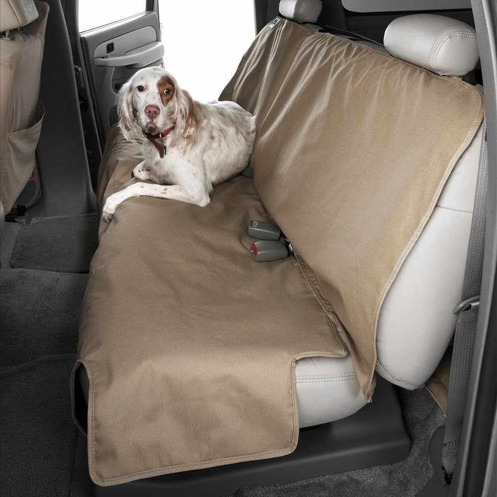 Astonishing Canine Covers Polycotton Econo Plus Rear Seat Protector Caraccident5 Cool Chair Designs And Ideas Caraccident5Info