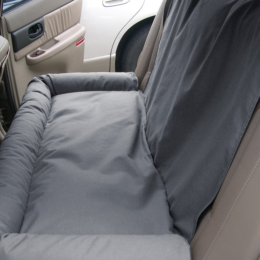 Back Seat Bed Canine Coversar Dbs4619gy Gray Back Seat Dog Bed