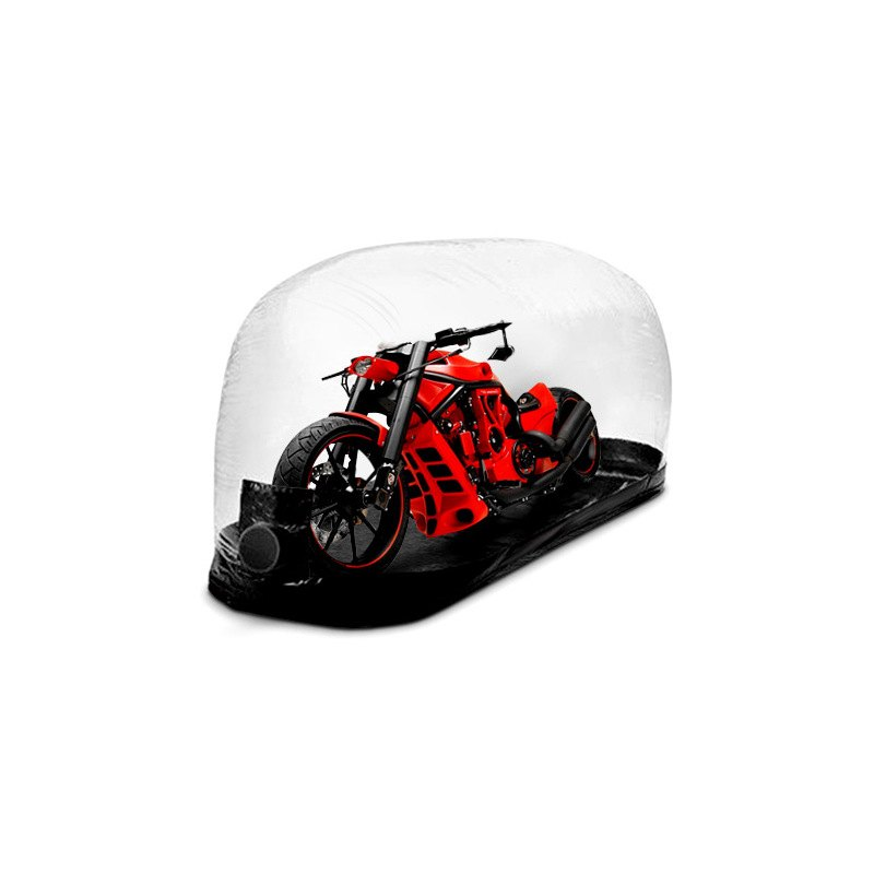 Carcapsule Indoor Bubble Motorcycle Cover