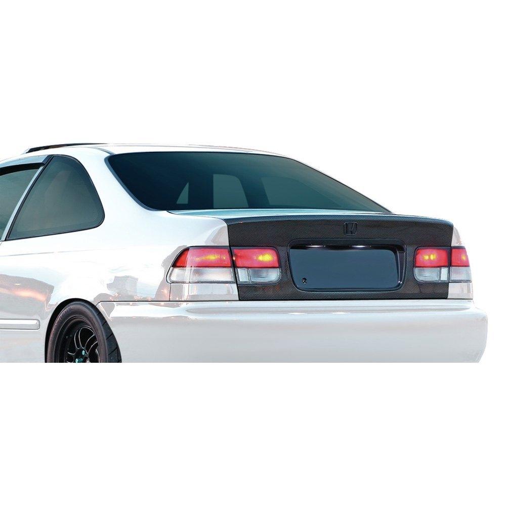 2000 civic sedan carbon fiber trunk