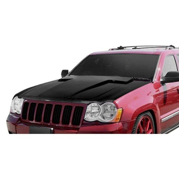 2006 Jeep Grand Cherokee Custom Hoods Carbon Fiber
