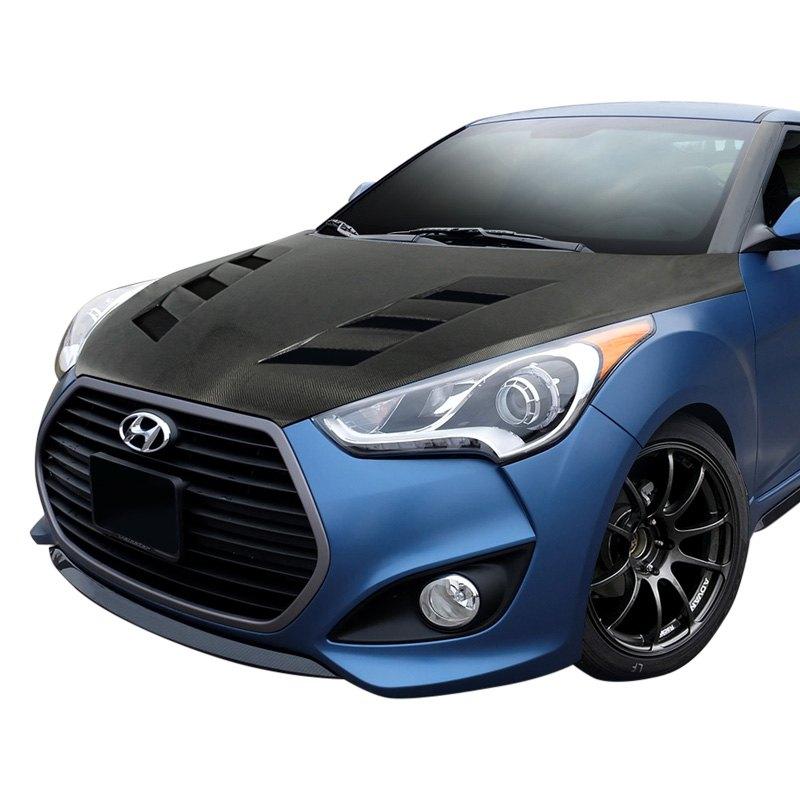 Carbon creations 112952 hyundai veloster 2014 dritech - Hyundai veloster interior accessories ...