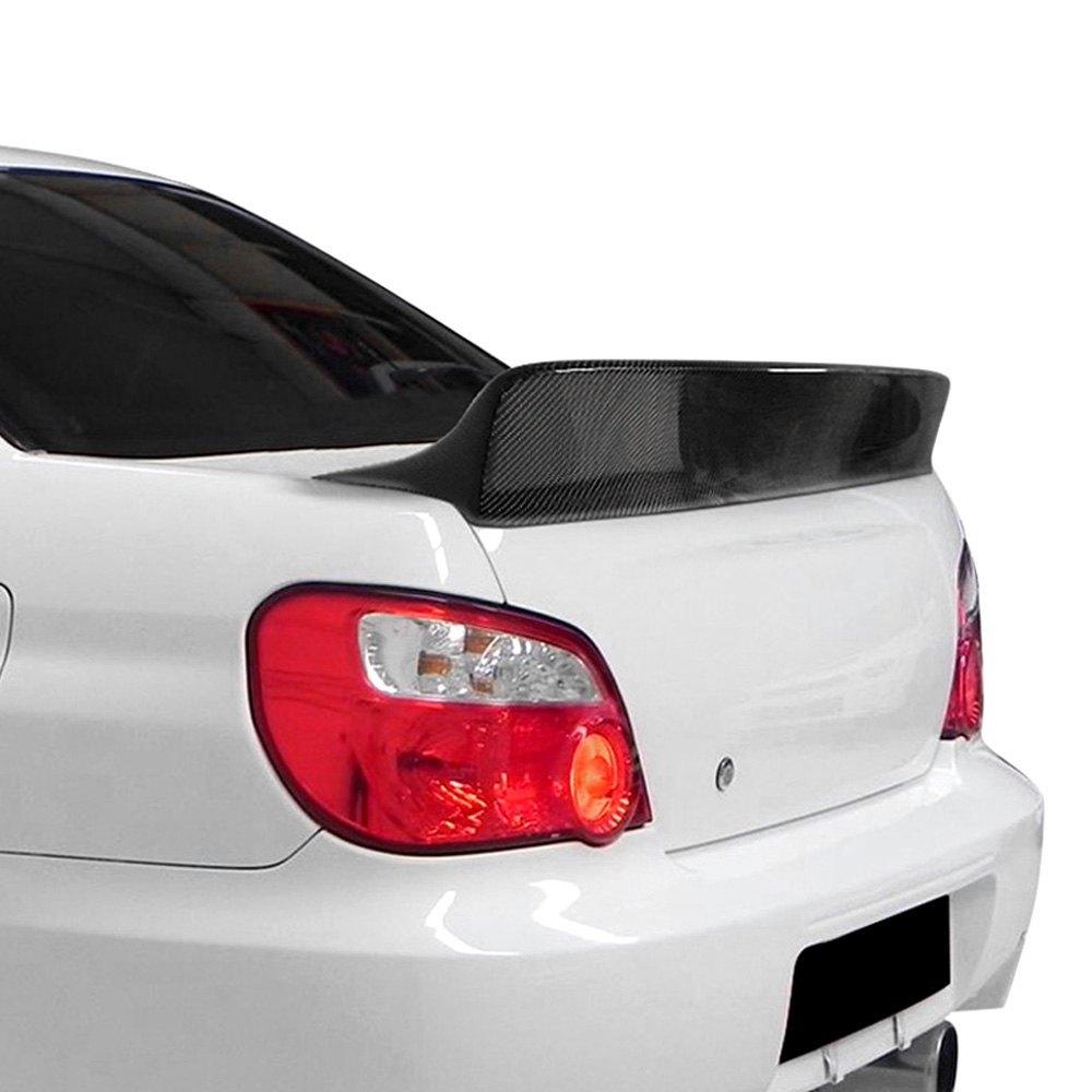 creations downforce style carbon fiber rear lip spoiler