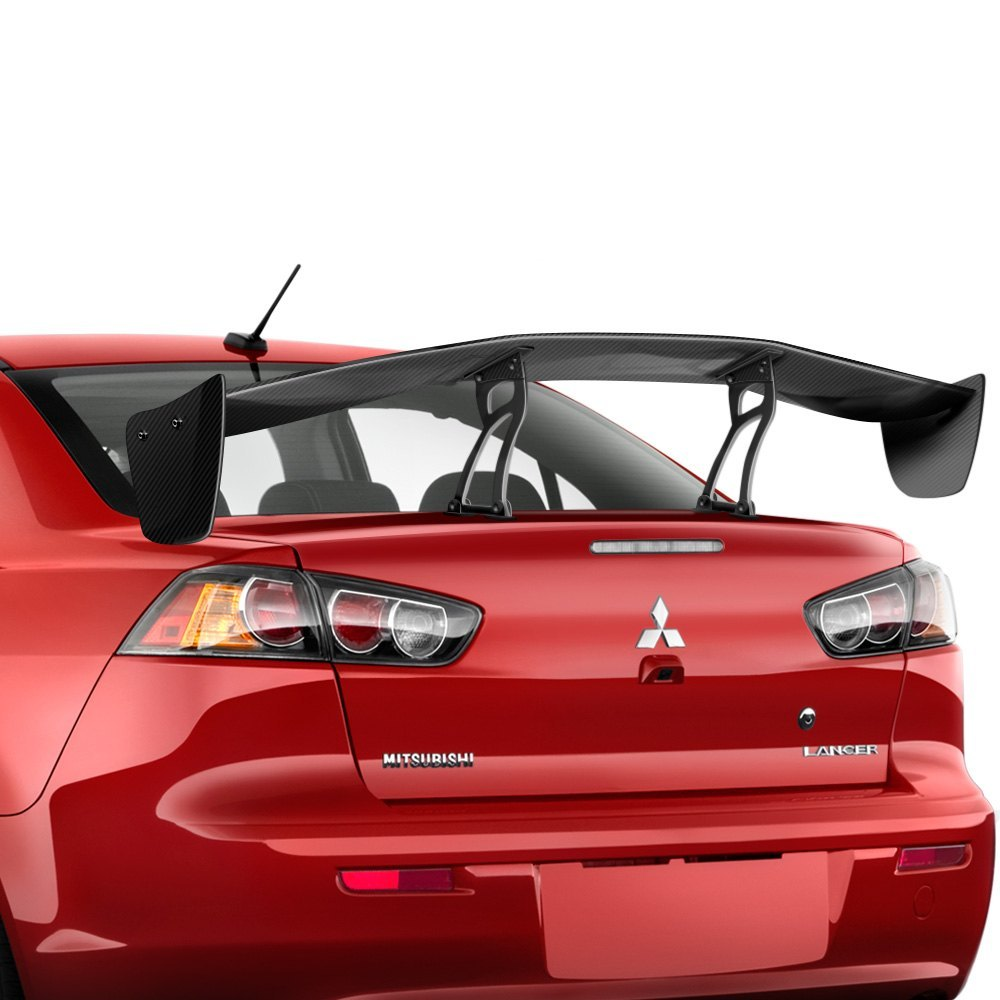 Carbon creations gt concept 2 style carbon fiber wing trunk lid spoiler