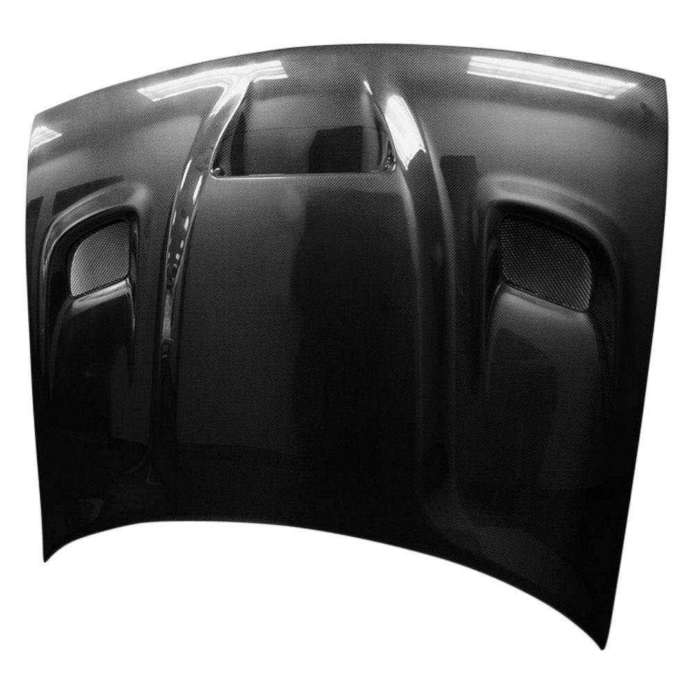112475 carbon creations hellcat style carbon fiber hood ebay. Black Bedroom Furniture Sets. Home Design Ideas