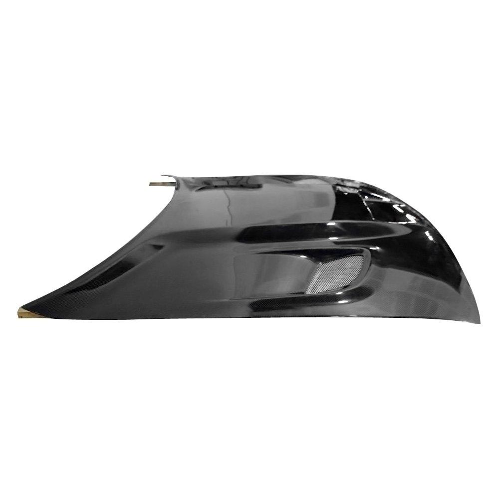 carbon creations 112475 dodge challenger 2012 hellcat style carbon fiber hood. Black Bedroom Furniture Sets. Home Design Ideas
