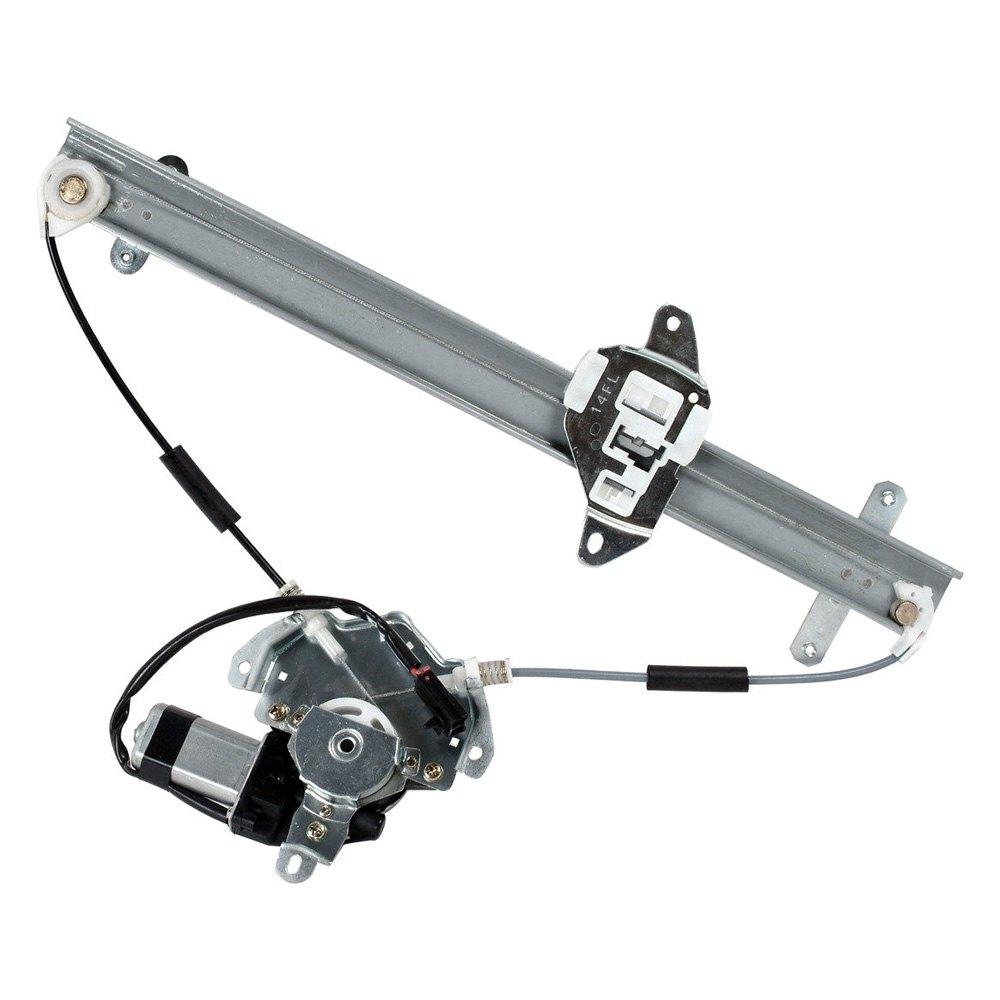 Cardone 82 1349ar front driver side power window motor for Window regulator motor assembly