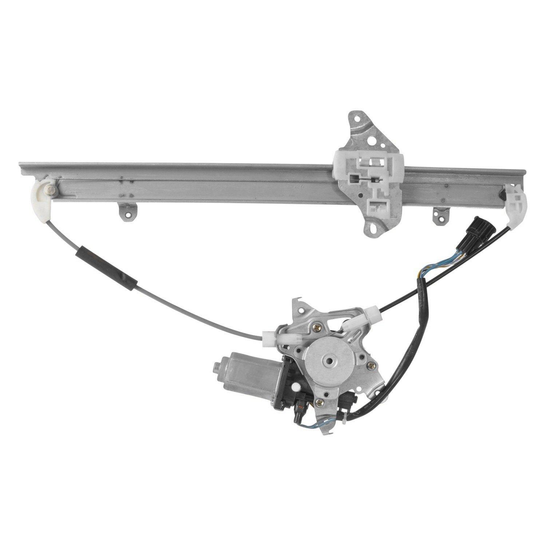 Cardone 82 13152ar front driver side power window for Window regulator motor assembly