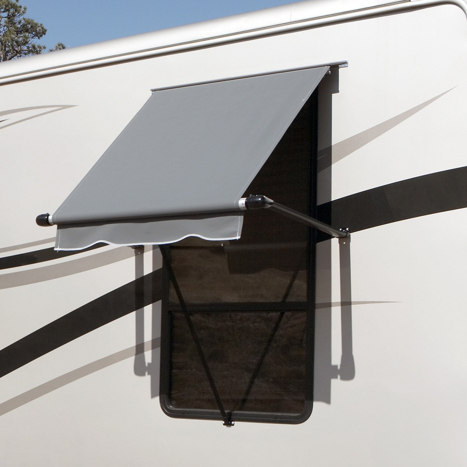 how to get rid of mildew on trailer awnings