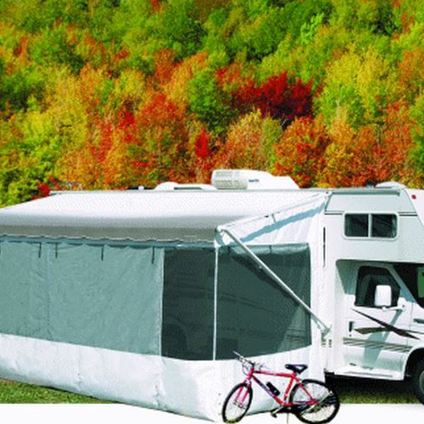 Carefree Complete Add A Room Awning Screen Motor Home
