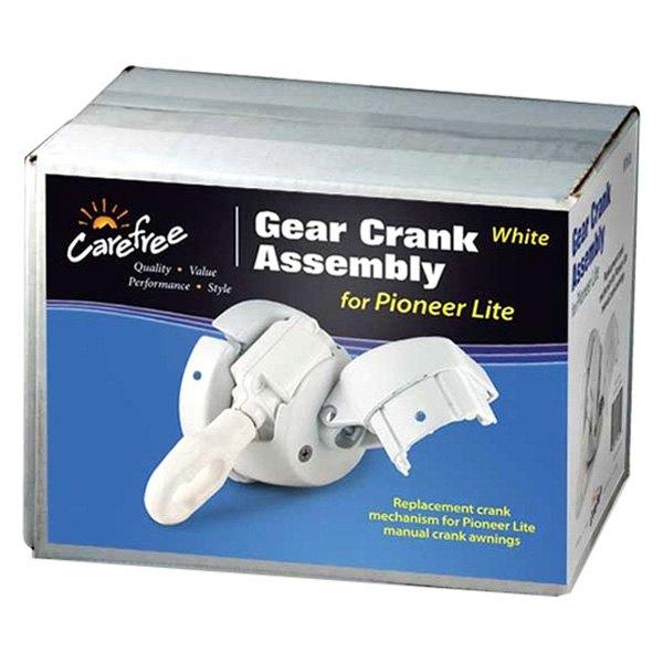 Pioneer Lite™ Manual White Awning
