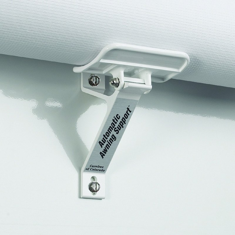 Awning Roller Support And Sidewall