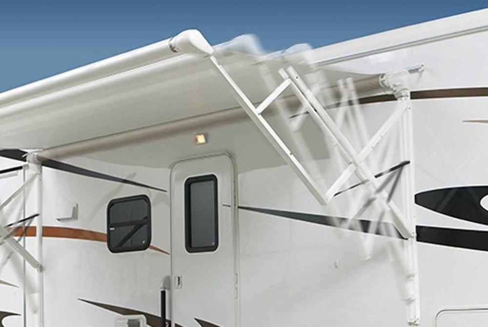 Carefree 174 R001642blk Travel R 8 X8 Electric Aluminum