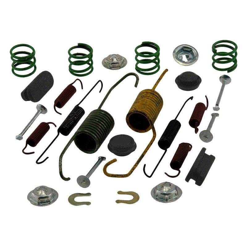 carlson toyota corolla 2007 rear drum brake hardware kit. Black Bedroom Furniture Sets. Home Design Ideas